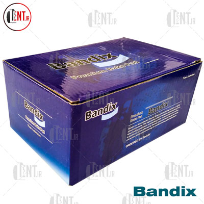 لنت ترمز جلو کاپرا باندیکس (Bandix)