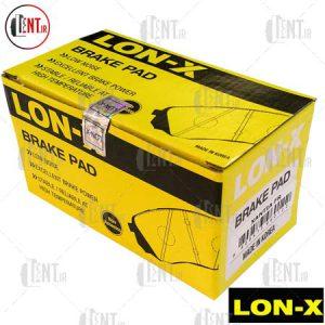 لنت ترمز جلو سیتروئن زانتیا 2000 لون ایکس (LON-X)